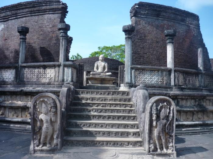 Rundhalle Polonnaruwa