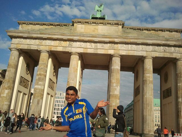 Buddhika in Berlin