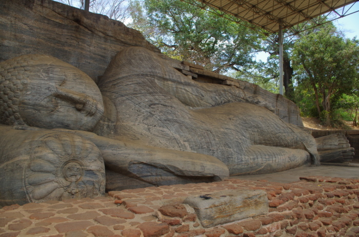 Liegender Buddha Polonnaruwa