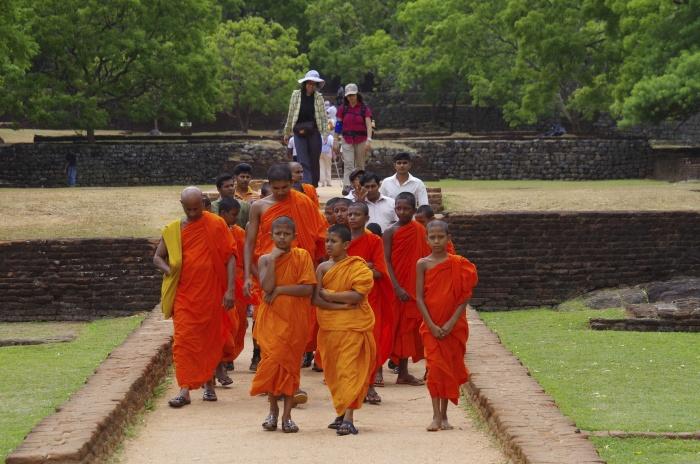 Mönche Sigiriya