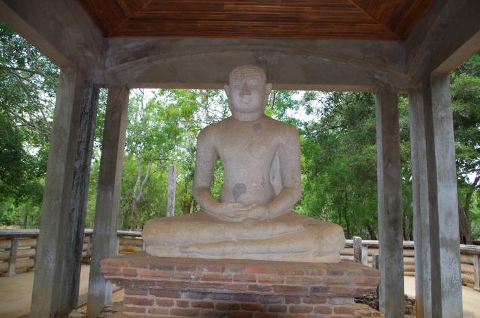 Buddha Statue Anuradhapura
