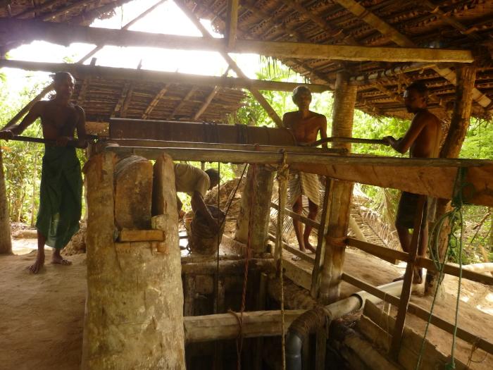 Mondstein Mine Arbeiter