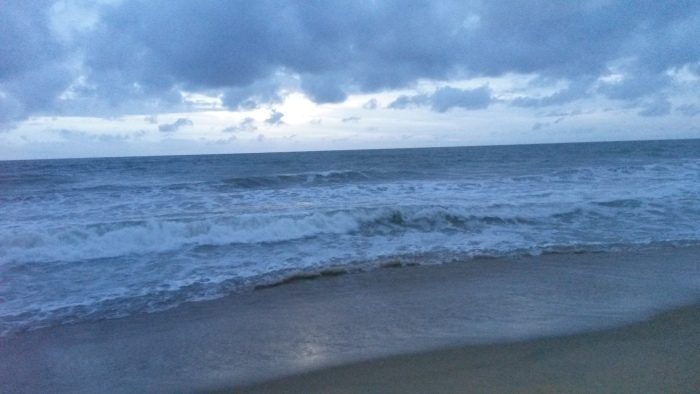 Negombo Beach Abend