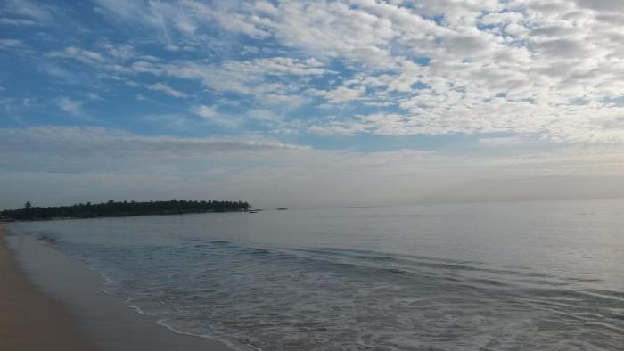 Pasikuda Beach am Morgen