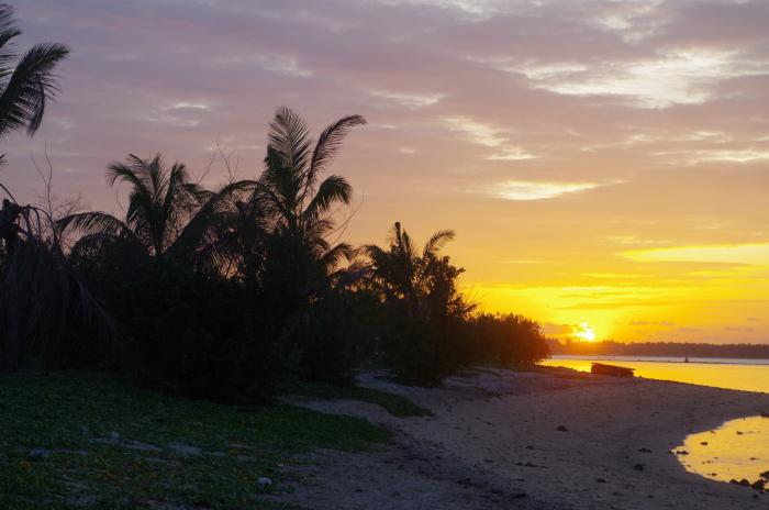 Sonnenuntergang Strand Pasikuda