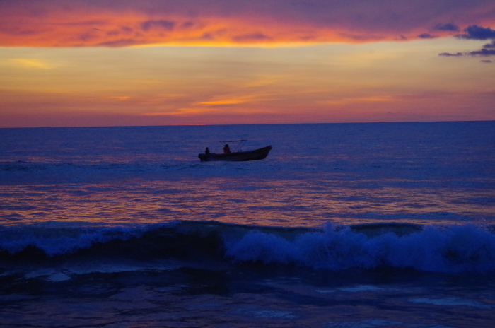Sonnenuntergang Negombo Beach