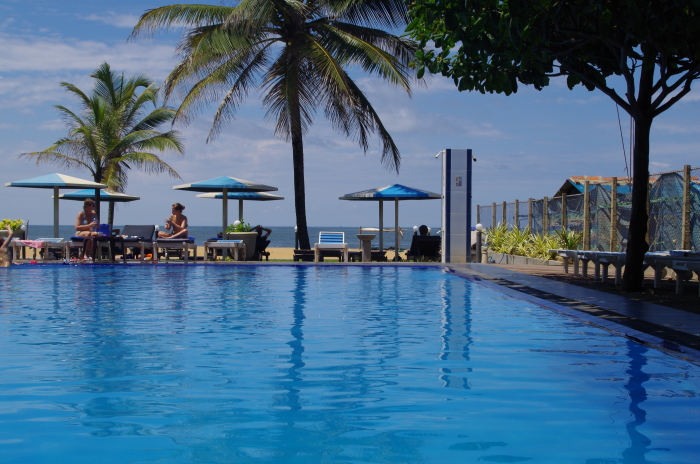 Hotel Rani Beach Resort, Negombo, Pool
