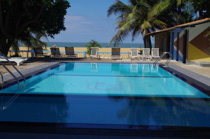 Hotel Topaz Beach, Negombo, Pool